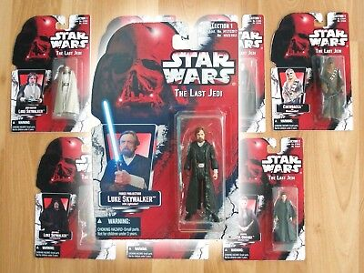 Star Wars THE LAST JEDI Vintage POTF2 Kenner Style Custom Carded 3.75 Figure