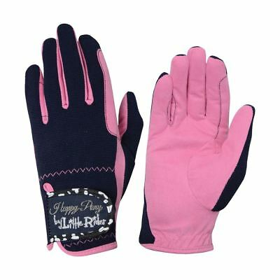 Molly Moo Children's Riding Gloves Various Sizes 13829P