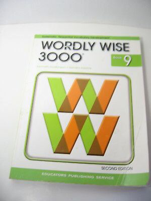 WORDLY WISE 3000 Grade 9 Home School Student Vocabulary Textbook 2cnd Edition