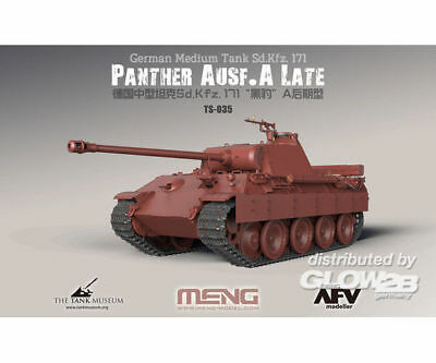 MENG-Model TS-035 German Medium Tank Sd.Kfz.171 Panther Ausf.A Late in 1:35