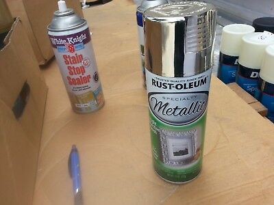 RUSTOLEUM 325 g SPRAY CANS METALIC  SILVER colour paint