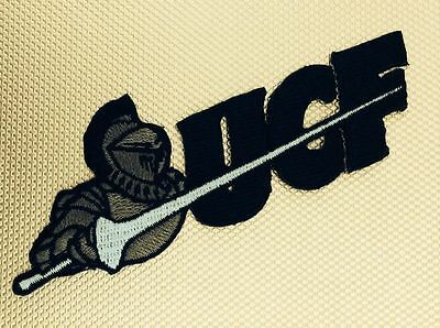 """UCF University Central Florida Knights Embroidered Iron On Patch 4.25"""" x 1.5"""" A1"""