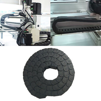 1m 10x20mm Nylon Drag Chain 40''Towline Carrier Wire Cable CNC Machine Tool