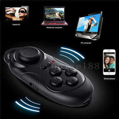 Black Wireless Bluetooth Gamepad Remote Controller For VR BOX Android IOS Phones
