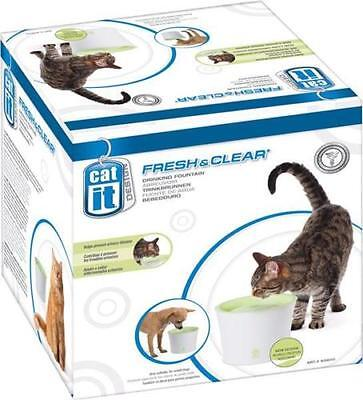Catit Fresh & Clear Water Cat and Small Dog Elevated Pet Fountain - 3 litres
