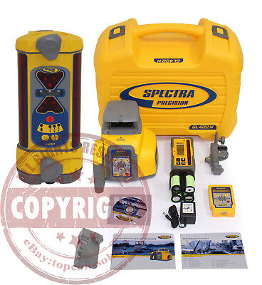 Spectra Precision Gl422N + Lr30 Self-Leveling Dual Slope Laser Level,trimble