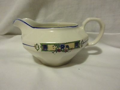 Vintage Edwin M. Knowles Vitreous China Creamer