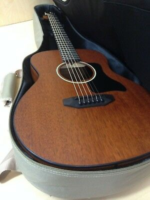 P-304 111 Caraya Arch-Back All-Mahogany Parlor Travel Guitar+Free HD Canvas Bag