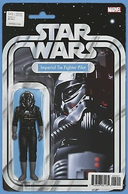 Star Wars 43 John T Christopher Imperial Tie Action Figure Variant Pre-Sale 2/7