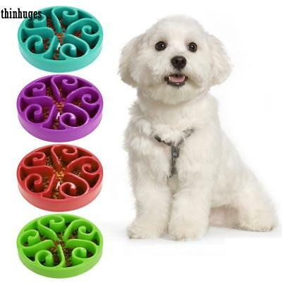 Puppy Pet Slow Feed Interactive Bloat Stop Dog Cat Bowl Feeder Dish#FREE SHIP