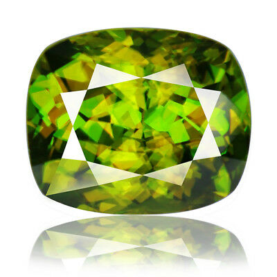 11.73ct 100% Natural earth mined extremely rare top quality multi color sphene