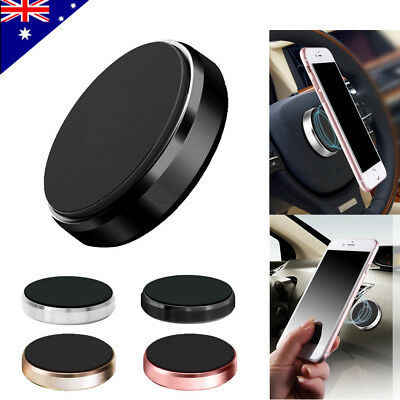 Universal Magnetic Magnet Car Phone Holder Mount Stand GPS PDA iPhone AD LD7