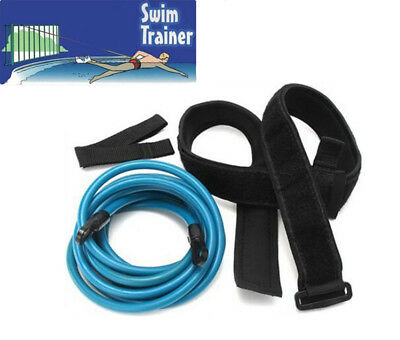 Swim Trainer Tether Belt Sport Resistance Hydrotherapy Pool Trainer Harness Kit