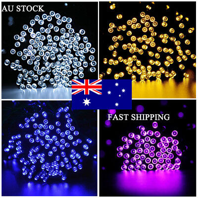 500 LED 100M Fairy Christmas String Light Wedding Party Garden Outdoor Indoor AU