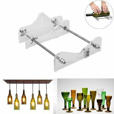 Glass Bottle Wine Beer Bottle Jar DIY Cutting Machine Recycle Tool X9SY
