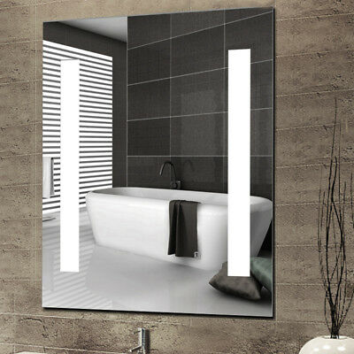 Led Light Illuminated Bathroom Mirror Storage Cabinet Demister Pad