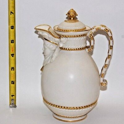 Vintage 1885 Royal Worcester China Pitcher (Date Code W)