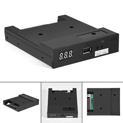 "SFR1M44-FUM-DL 3.5"" 1.44MB USB Floppy Drive Emulator for Industrial Equipment EM"