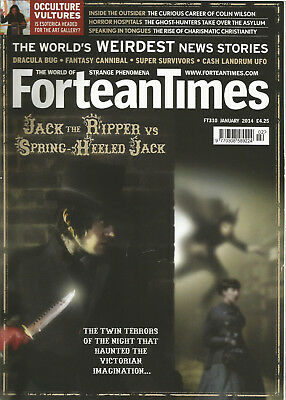 Fortean Times 310 - Jack the Ripper Vs Spring-Heeled Jack - Jan 14