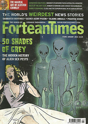 Fortean Times 296 - 50 Shades of Grey - Jan 2013