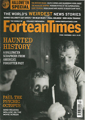 Fortean Times 294 - Haunted History - Nov 2012