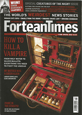 Fortean Times 288 - How to kill a Vampire - Special Issue 2012