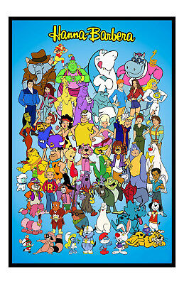 Hanna Barbera Poster Photo 11x17 in / 28x43 cm Cartoon