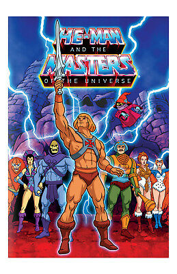 He-Man Masters Of The Universe Poster 11x17 in / 28x43 cm Cartoon