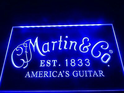 Martin Guitars Acoustic Music LED Neon Light Sign home decor crafts