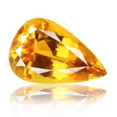 18.19ct Eye clean 100% Natural earth mined top quality aaa+ golden yellow beryl