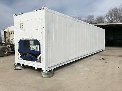 40ft High Cube Refrigerated Shipping Container - Houston