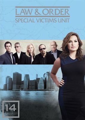 New & Sealed! Law & Order SVU Season 14 DVD Special Victims Unit