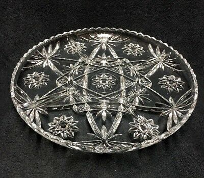 Anchor Hocking Early American Prescut EAPC 5 Part Divided Relish Serving Tray