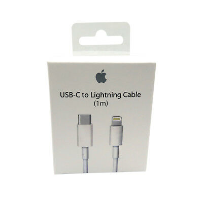 Original Apple iPhone 1m Lightning auf Typ-C USB-C Kabel MK0X2AM/A Macbook A1656