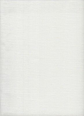 "28 count Permin/Wichelt Linen Cross Stitch Fabric Fat Quarter ""Antique White"""