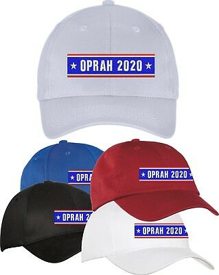 Oprah FOR PRESIDENT 2020  HATS CAPS  - EMBROIDERED