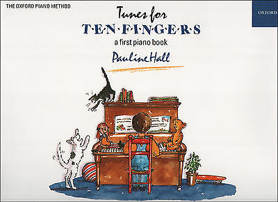 Tunes For Ten 10 Fingers Pauline Hall A First Piano Sheet Music Book Childrens