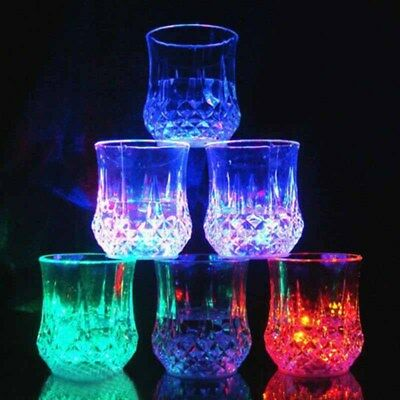 Inductive LED Wine Whisky Flash Light Beer Cup Bar Mug Party Club
