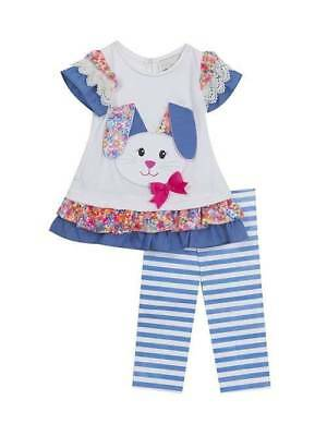 cd99b953feb26 NWT! RARE EDITIONS Polka Dotted Parrot Matching 2-Piece Outfit Set ...