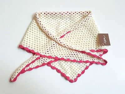 Tea Collection Girls NEW Germany Into the Woods Scalloped Sweater Scarf JL1-9
