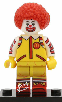 Ronald McDonald - Custom (Compatible with LEGO)