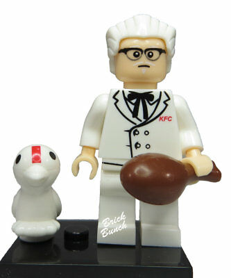 KFC The Colonel - Custom (Compatible with LEGO)