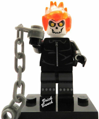 Ghost Rider - Custom (Compatible with LEGO)