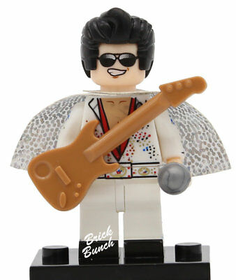 Elvis Presley - Custom (Compatible with LEGO)