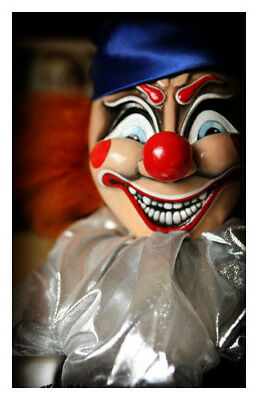Movie Prop Replica POLTERGEIST CLOWN Handmade Horror Movie Lifesize TwoFace Doll