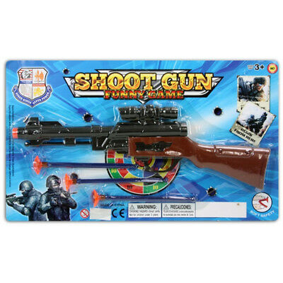 kids toy arrow rifle gun with orange shooters for shooting stocking filler