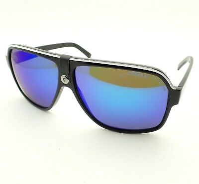 c526dadc0566 CARRERA 33 S Black Blue Mirror 8V6Z0 62 New Sunglasses Authentic ...