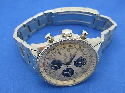 Breitling Old Navitimer Automatic Stainless Steel Wristwatch Ref #81610