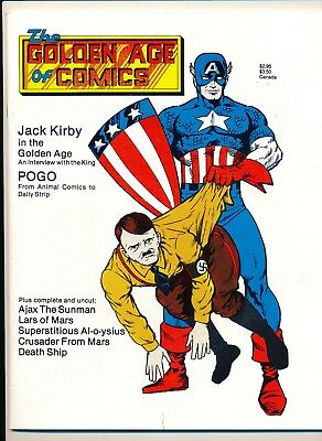 Golden Age of Comics (1982) #6 VF- Hard to find