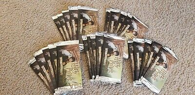 25 x 2001 Harry Potter & The Sorcerer's Stone Movie Trading Cards Sealed